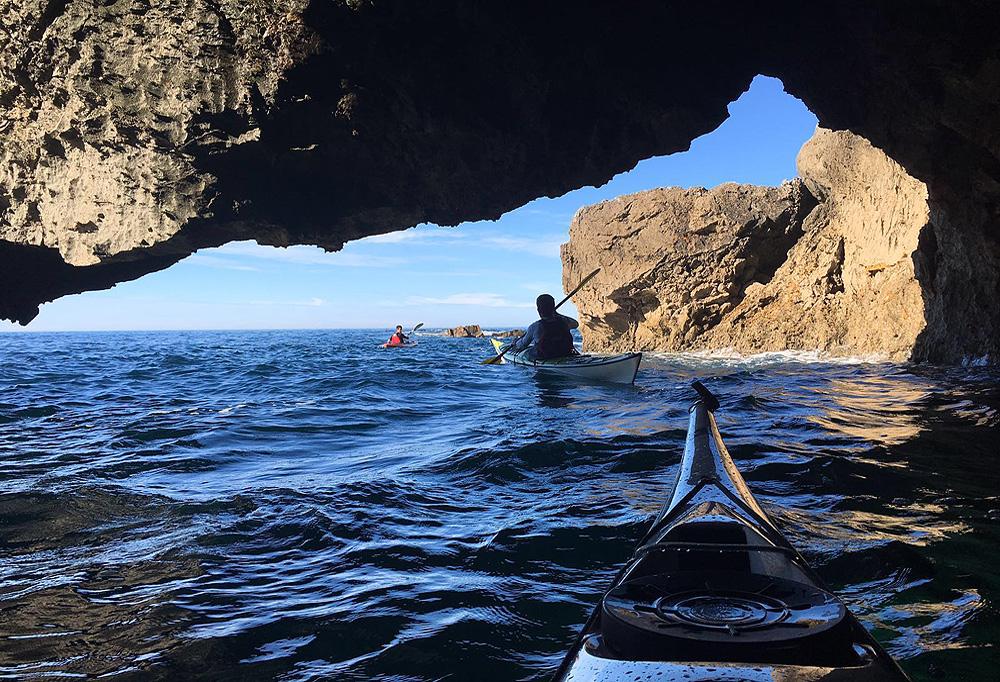 Rutas de kayak de mar de jornada completa en Urdaibai, Bizkaia, Costa Vasca