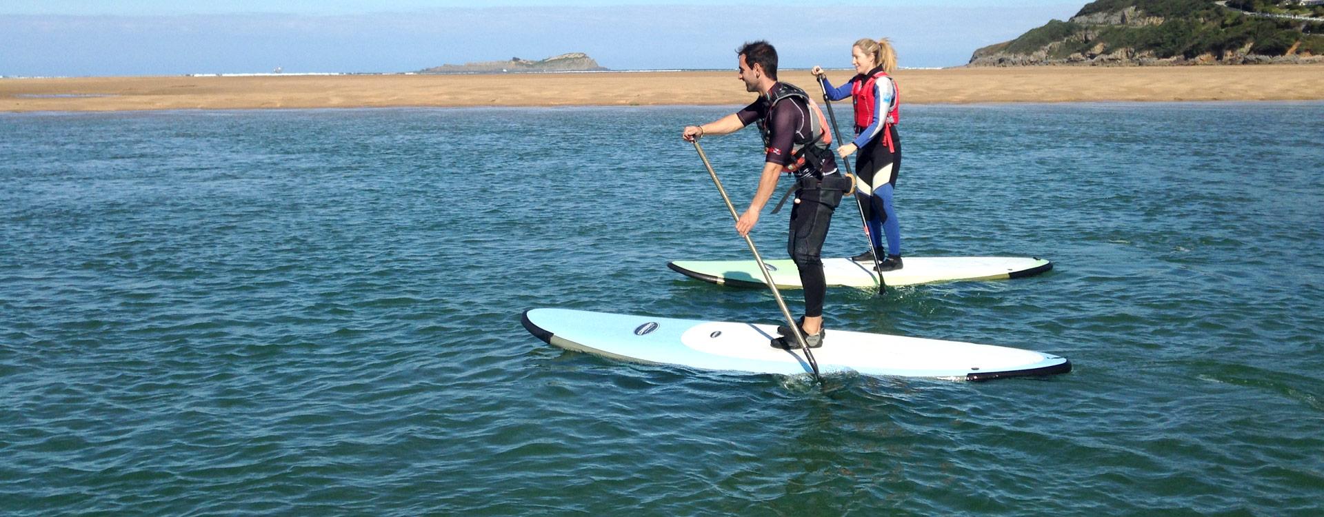 UR Urdaibai turismo activo, Stand Up Paddle