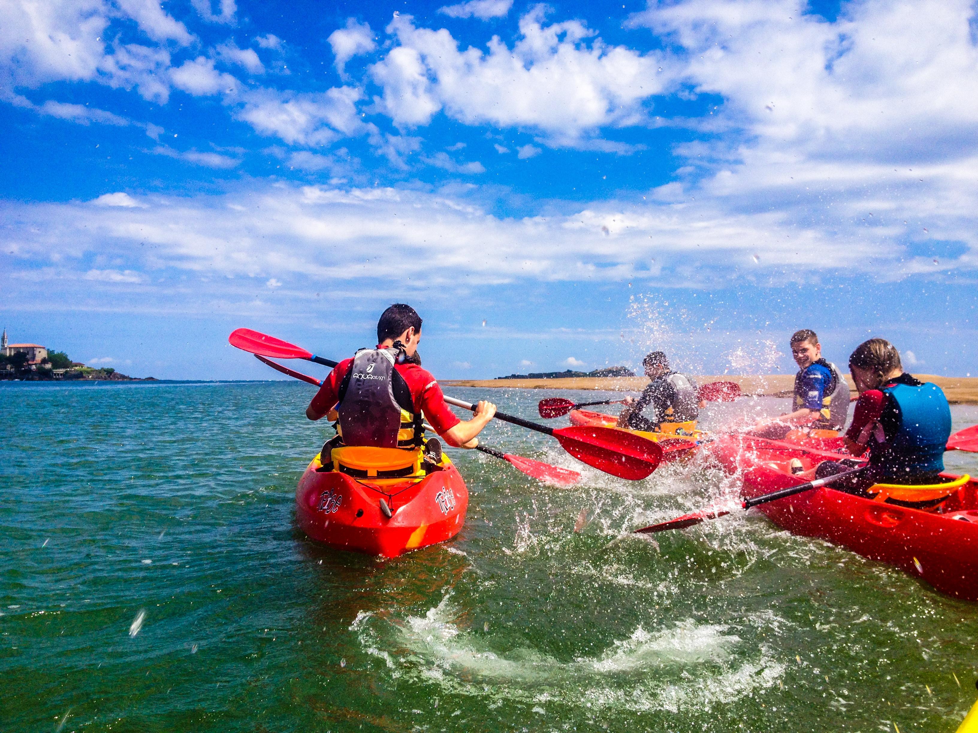 Travesías y Descensos en Canoa para grupos en la Reserva de la Biosfera de Urdaibai